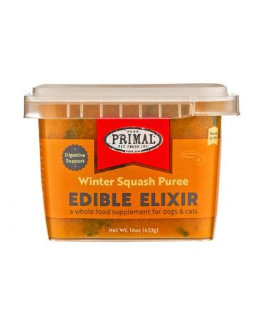 Primal Edible Elixir Winter Squash Puree Food Supplement for Dogs & Cats