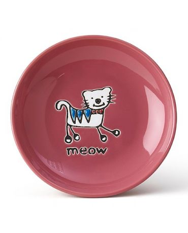 PetRageous Designs Silly Kitty Saucer