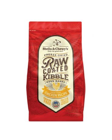 Stella & Chewy's Grain-Free Raw Coated Chicken Recipe Dry Dog Food
