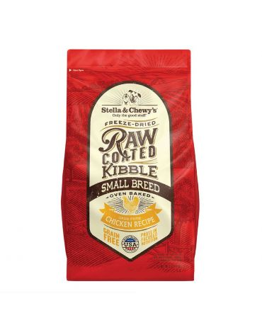Stella & Chewy's Grain-Free Raw Coated Small Breed Chicken Dry Dog Food