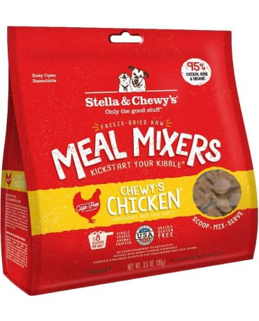 Stella & Chewy's Freeze-Dried Raw Chewy's Chicken Dog Food Meal Mixers