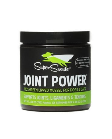 Super Snouts Joint Power 100% Green Lipped Mussel Dog & Cat Supplement