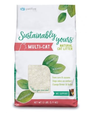 Sustainably Yours Natural Multi-Cat Litter