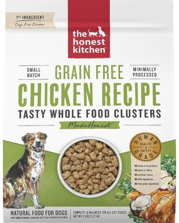 The Honest Kitchen Grain-Free Whole Food Clusters Chicken Dry Dog Food