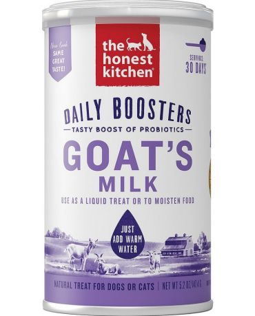 The Honest Kitchen Daily Boosters Instant Goat's Milk for Dogs & Cats