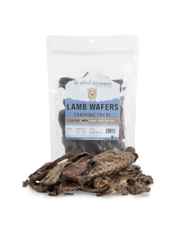 The Natural Dog Company Lamb Lung Wafers Pet Treat