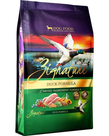 Zignature Grain-Free Duck Formula Dry Dog Food